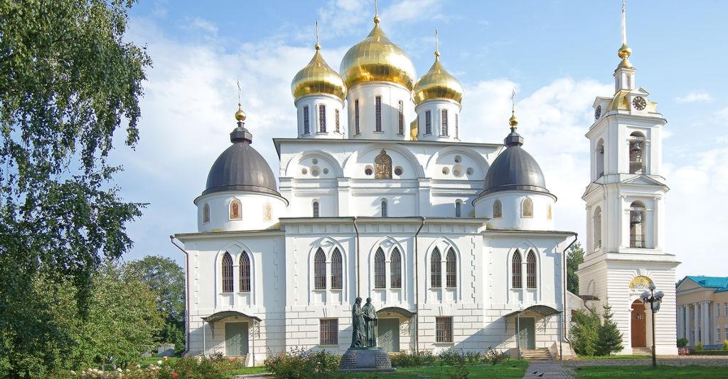 Город Дмитров. Успенский собор.