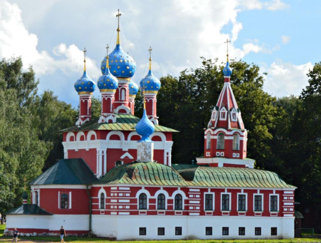 Церковь царевича Дмитрия «на крови»
