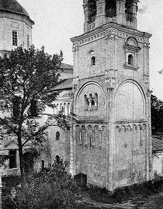 Боголюбовский монастырь. Остатки палат князя Андрея Боголюбского