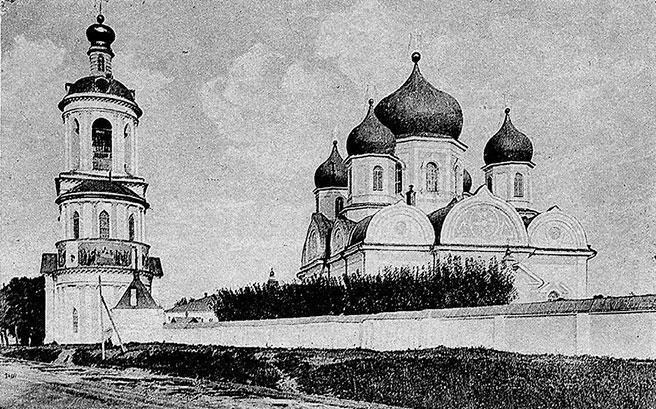 Собор и колокольня Боголюбовского монастыря