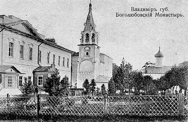 Боголюбовский монастырь. Вид внутри ограды